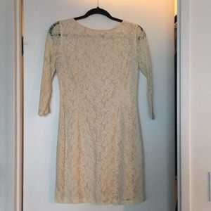 Three quarter sleeve dress